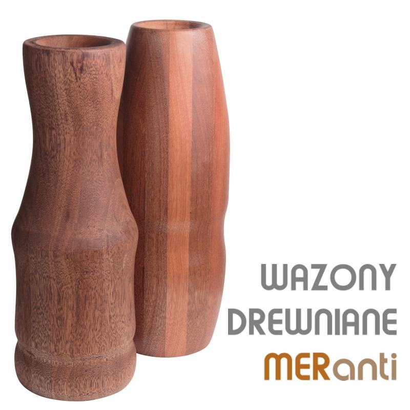 drewniany wazon k mer model9b