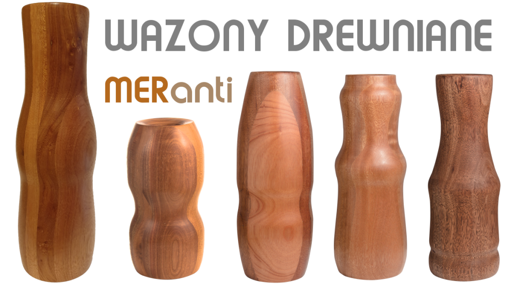 Wazony drewniane MERanti baner